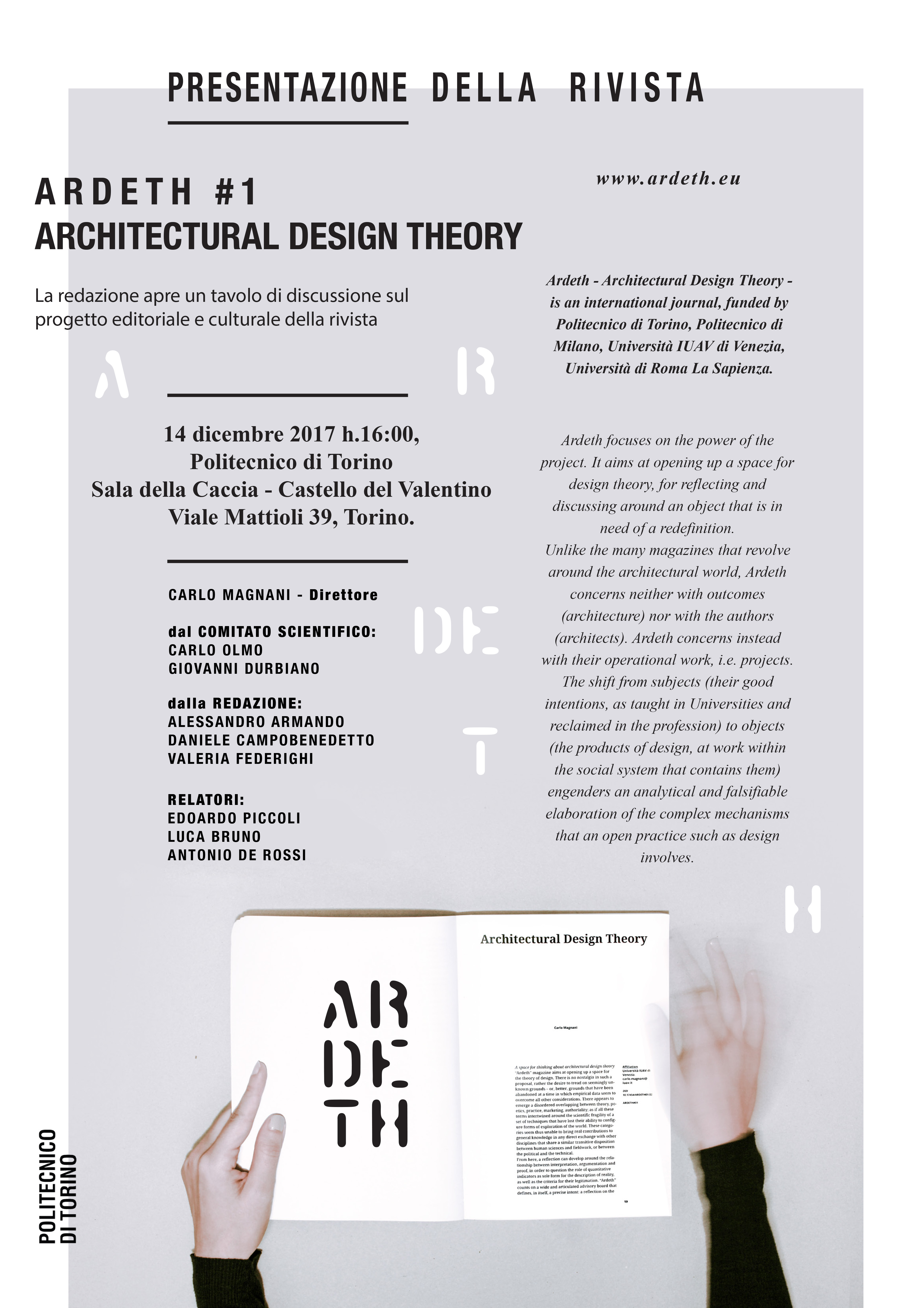 Architecture Theory Since 1968. Poster